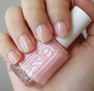 light pink nail polish