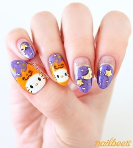 hello kitty nail