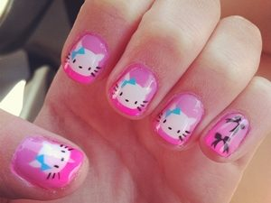 hello kitty nail games