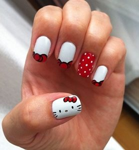 hello kitty nails games