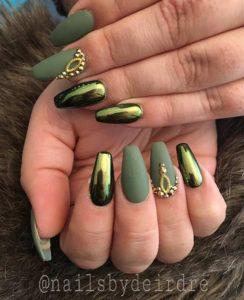 diy coffin nails