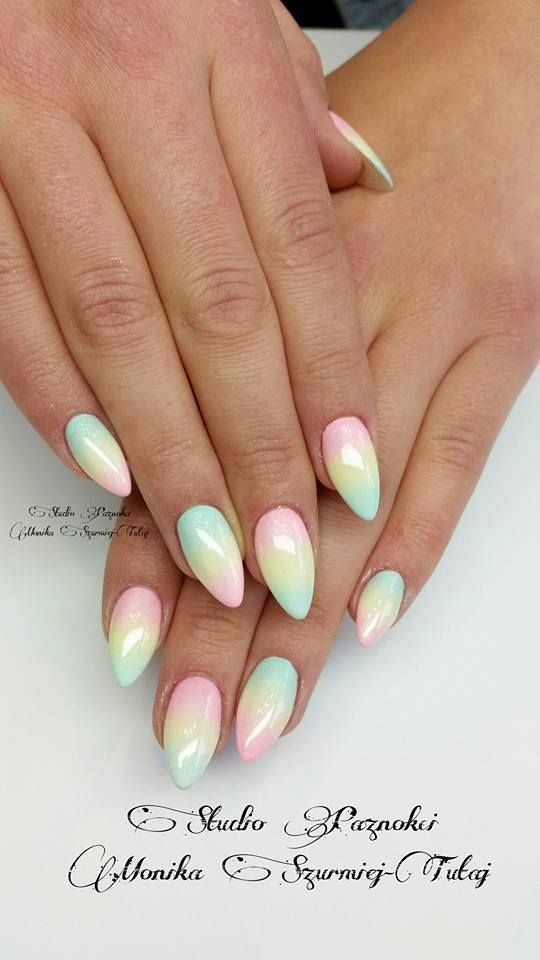 Pastel Nails 35 Creative Pastel Nail Art Designs