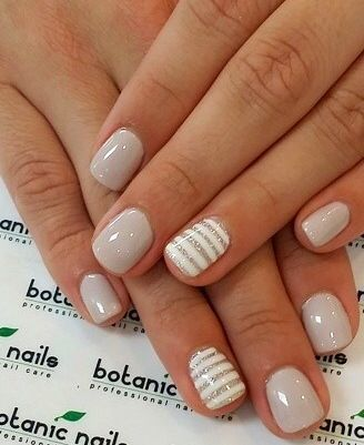 Nude Nails: 30 Beautiful Nude Color Nail Designs |