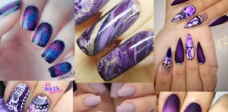 Best Purple Nail Designs