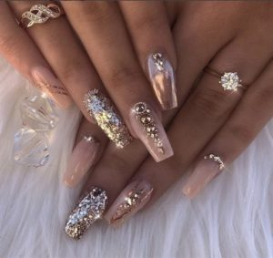 Boss Babe nails