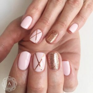 Criss Cross nails