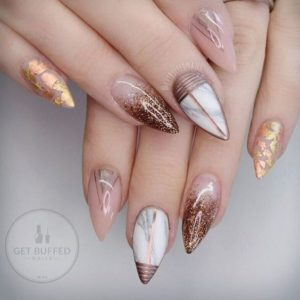 Geometric Shapes nails