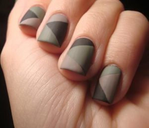 different shades of gray polish