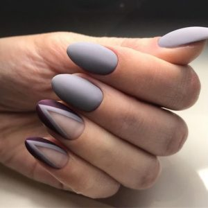 negative space nails nails