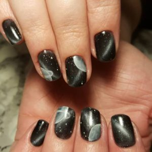 chic galaxy black