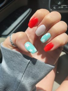 nails 4th of july party