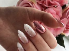 Polka Dot Nails Designs