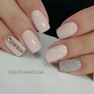 beige and silver