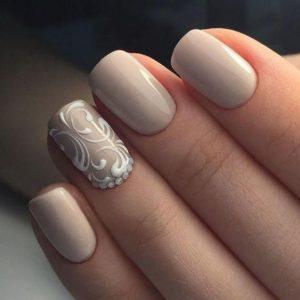 swirl design white
