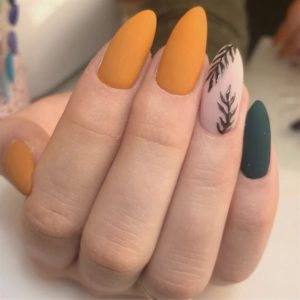 yellow and green fall look