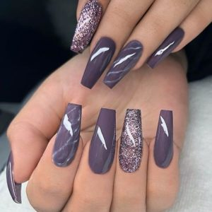 Stunning Purple Nail Designs for 2019 |