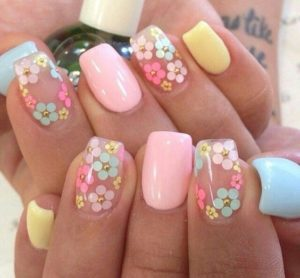 clear pastel