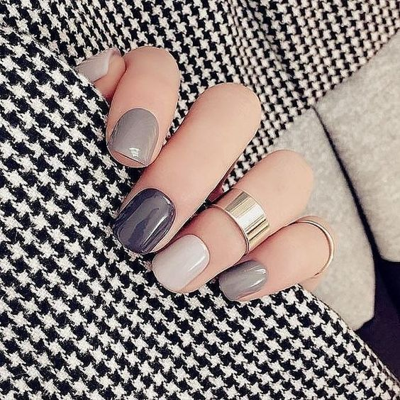 Gel Nails For Christmas 2019: Winter Nail Designs And Colors In 2019