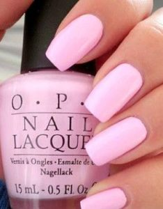 OPI baby pink
