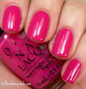 classic pink opi