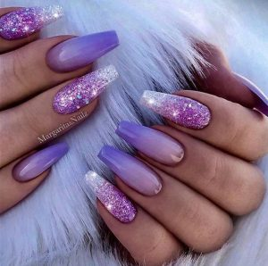 lilac ombre