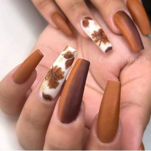thanksgiving brown matte