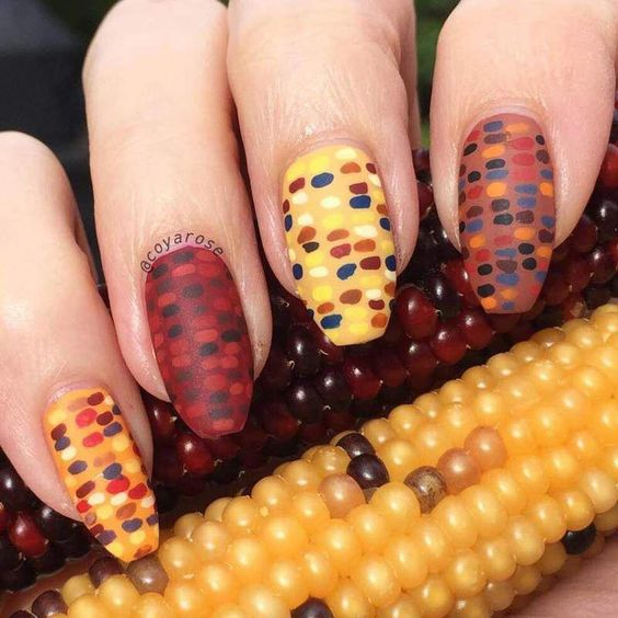 colorful corn design