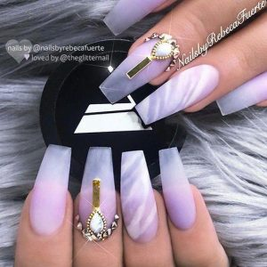 matte clear marble