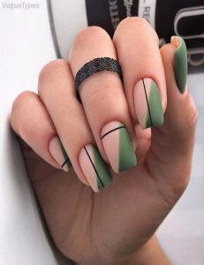 nude green shapes