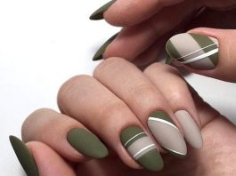 nude polish white olive