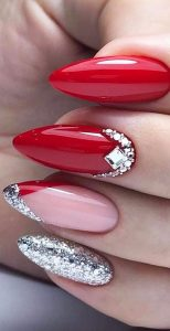 red pink silver