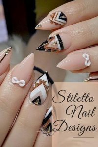 nude aztec stiletto