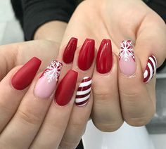 holiday french tip