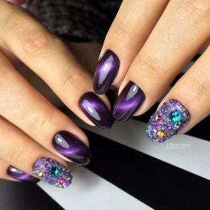 bejeweled cateye polish