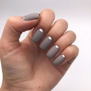 matte taupe chrome touch