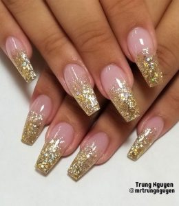 french glitter ends