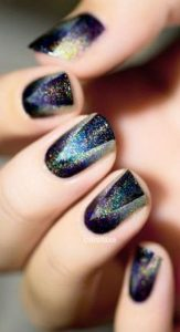 triangle ombre hologram