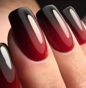 simple red black fading