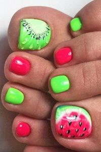 fruit salad toes