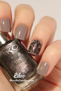 edgy bronze taupe