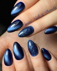 navy cat glitter nye