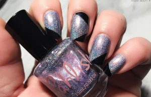 iridescent glitter new year