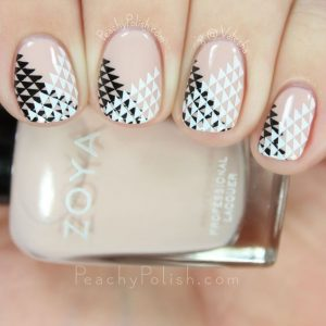shape white black stamping