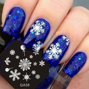 snowflake stamping blues