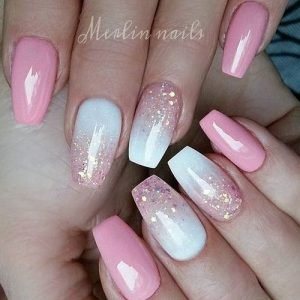 reflecting ombre design