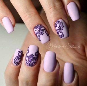 lace lavender shade