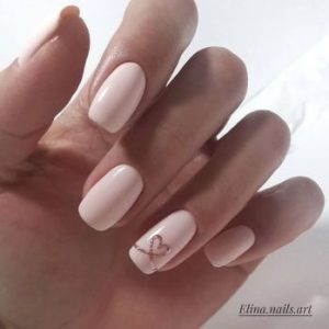 nude pink glitter hearts