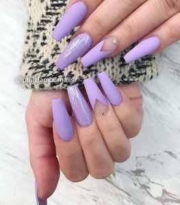 clear space lavender