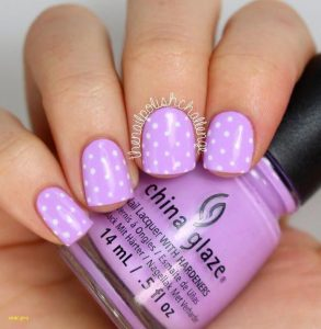 dotted lavender