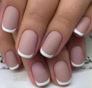 french gel tip matte